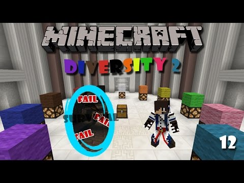 Minecraft Map : Diversity 2 (Part 12) - Survival Branch