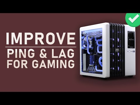 Improve Ping / Lag for PC Games