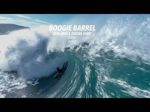 Boogie Barrel - Low Angle Drone Shot [Experimental]