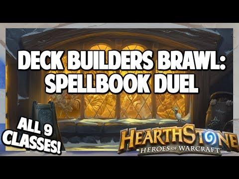 Hearthstone | Deck Builders Brawl | Spellbook Duel