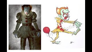 Horror movies villains as Zombies