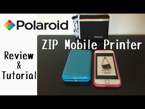 Polaroid Zip Mobile Printer Vs Fujifilm Instax Share Sp 2 Printer