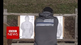 The American teachers armed against gun crime - BBC News