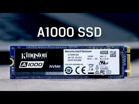 M.2 NVMe SSD with 3D NAND - Kingston A1000