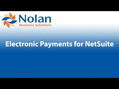 Electronic Payments for NetSuite