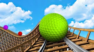 GOLF ROLLER COASTERS! - GOLF IT