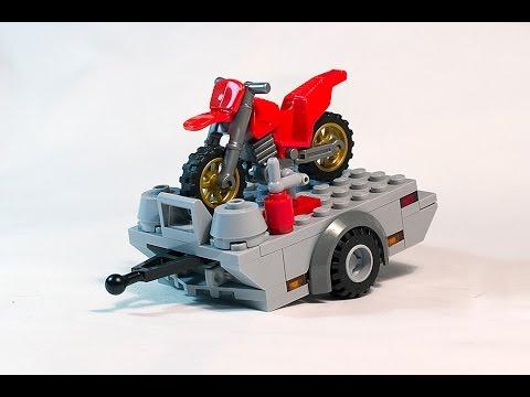 Tutorial: How to build LEGO dirt bike trailer MOC