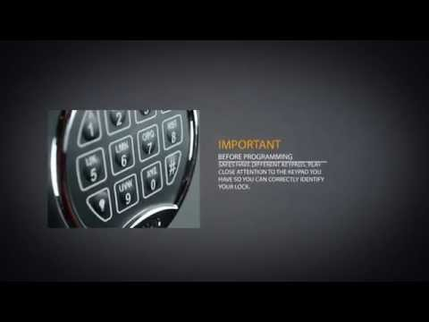 Cannon Safe - Help - NL Lock Programming