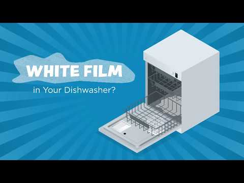 How to Remove White Film in Dishwasher From Hard Water