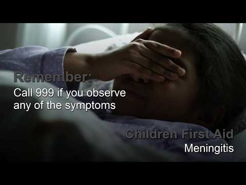 Children First Aid: Meningitis