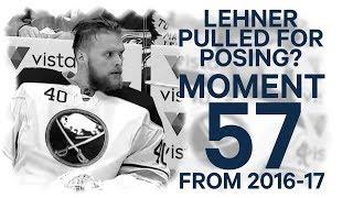 No. 57/100:  Lehner pulled for posing?