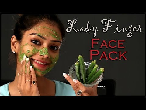 DIY | Lady Finger Face Pack | Home Remedies | Natural Remedy | DIY Face Mask | Skin Care | Foxy
