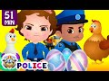 ChuChu TV Police Save The Super Hens From Bad Guys Police Car Chase ChuChu TV Surprise Eggs Toys