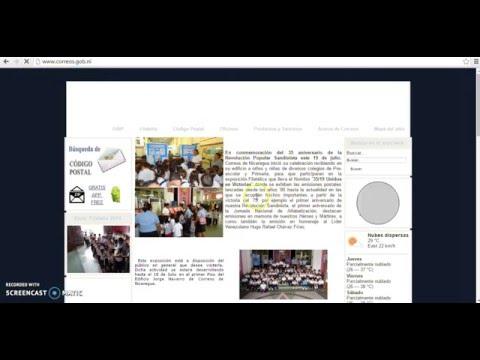 Como saber ¿Cual es mi codigo postal en Nicaragua? por: construir.esnicaragua.com