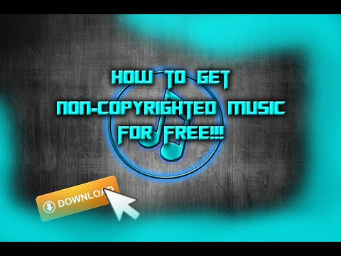 How to Get Non-Copyrighted (intro, outro, montage, Background) Music For Free!