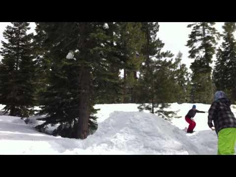 Backyard Jump Build & Backflip Attempts