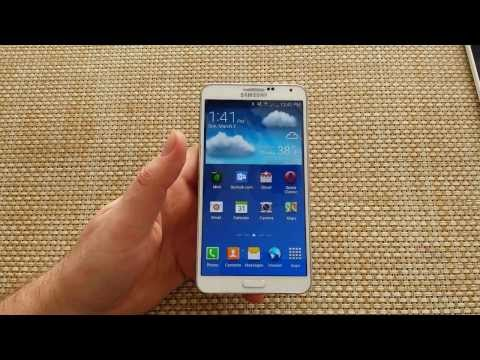 How to take a Screen Shot on a Samsung Galaxy Note 3.  Take a picture of the screen