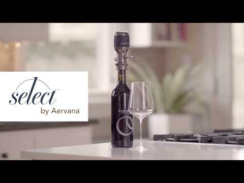 How to use the NEW Aervana Select Adjustable Wine Aerator