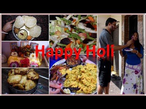 Holi vlog | Day to Night food with Recipe | Making Bengali Sweet
