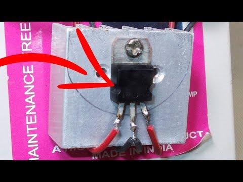 Step Down Voltage Converter 12 volt to 5 volt   5v power supply using 7805 voltage regulator design