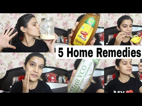 5 Home Remedies For Sensitive Skin | Step By Step daily Routine | Super Style tips