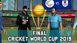 Cricket World Cup Final - England vs New Zealand Live stream prediction Real cricket 19 expert mode