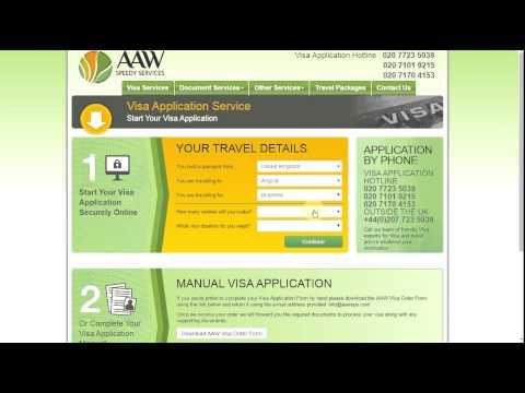 Get Online angola visa application | angola business visa | angola stv |  AAW Speedy Services.
