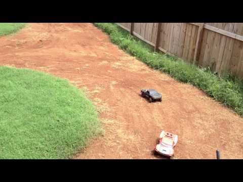 1 - Homemade Short Course RC Track - LOSI SCTE battle
