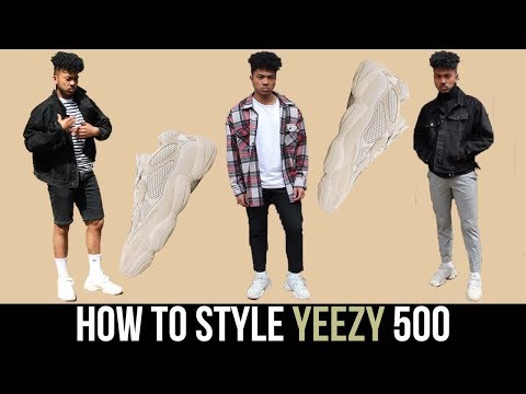 How To Style Yeezy Blush 500 || Unboxing Review & Sizing 🔥