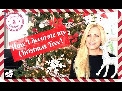 🎄 Decorate with me! Christmas Tree trimmings 🎄