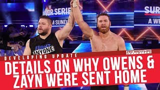 **UPDATE** Details On Why Kevin Owens & Sami Zayn Were Sent Home
