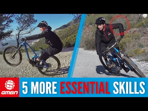 5 More Essential Skills To Master On Your Mountain Bike