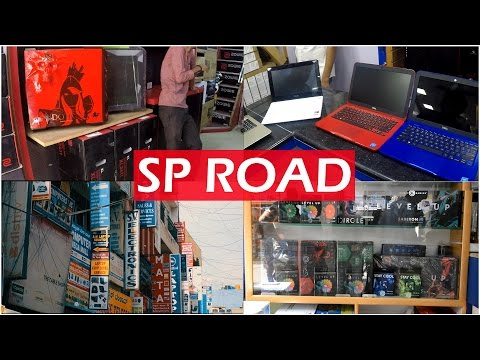 SP ROAD | Electronic Market | Bangalore | [Cinematic]