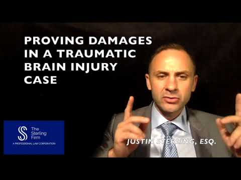 HOW TO PROVE DAMAGES IN A TRAUMATIC BRAIN INJURY CASE?