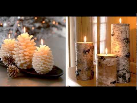 Christmas Candles Decoration Design Ideas