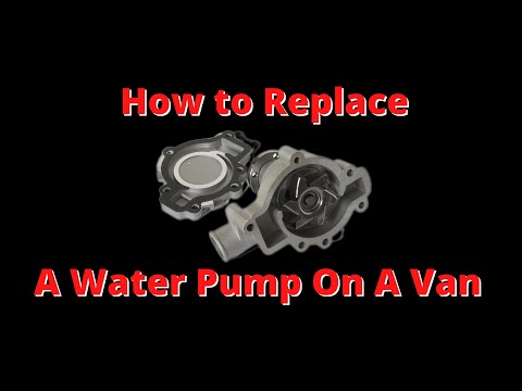 Water Pump Replacement on a 2003 Chevy Venture.