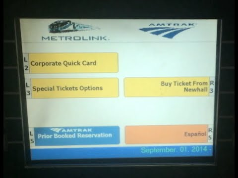 Get a Metrolink ticket in under 30 seconds.