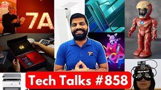 Tech Talks #858 - Xiaomi IronMan, Realme X 15th July, Redmi K20 17th July, New iPhone, iOS 13, Note