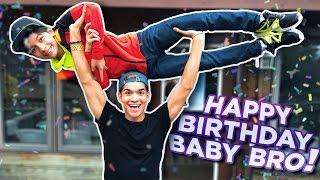 HAPPY BIRTHDAY BABY BRO!