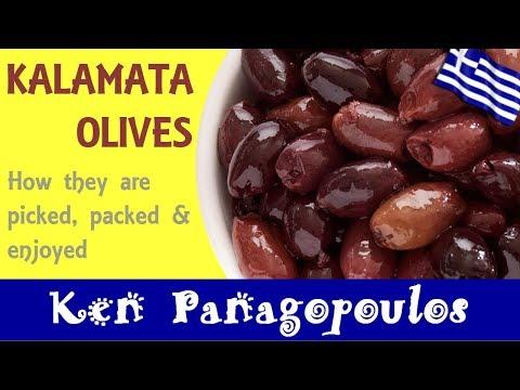 Kalamata Olives - How The Kalamata Olive Is Prepared & Enjoyed | Ken Panagopoulos