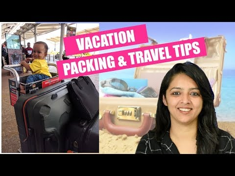 TIPS || PACKING FOR INFANT & TODDLERS