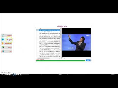 Get live channel urls on Configurator url Tester