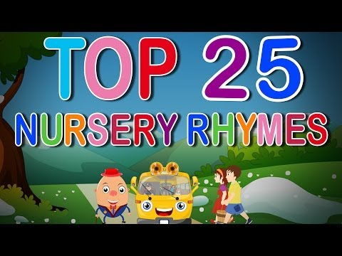 Top 25 Nursery Rhymes | English Nursery Rhymes Collection for Children n Babies