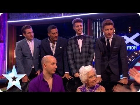 Stephen chats to Jack Pack and Paddy & Nico | Britain's Got More Talent 2014