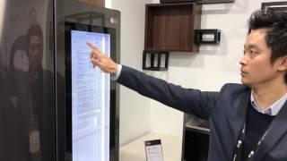 LG has a smart refrigerator running Windows 10