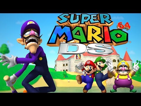 Why Waluigi Wasn't In Super Mario 64 DS