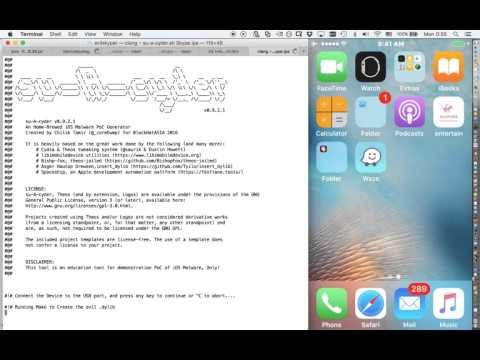 Malware on iOS - Evil Skype