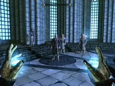 Let's Play Elder Scrolls V: Skyrim| Part 21: First Lessons[2/3] Learning Magic