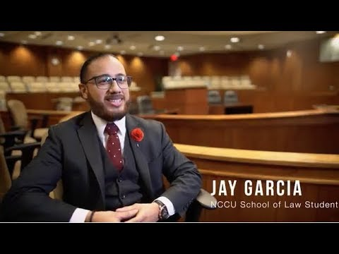 I Am The Eagle Promise: NCCU School of Law Student Jay Garcia