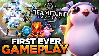 FIRST GAMEPLAY FOOTAGE!   TEAM FIGHT TACTICS (FULL GAME)